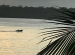 CAHUITA BOAT IN THE MORNING